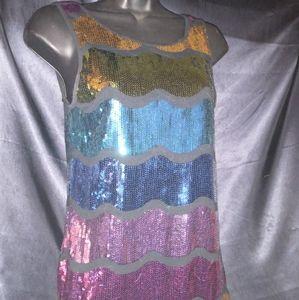 Forever 21 Sequins mini dress.